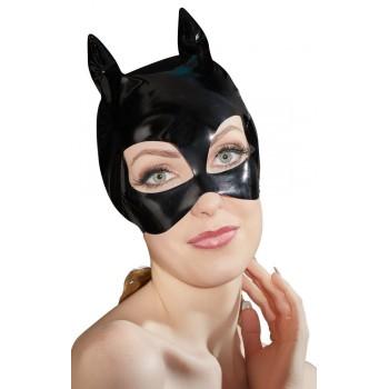 Maschera da Gatta Nero Vinile