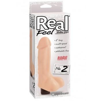 Vibratore Real Feel N° 2 Carne
