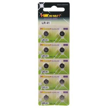 Batterie LR41 10pz